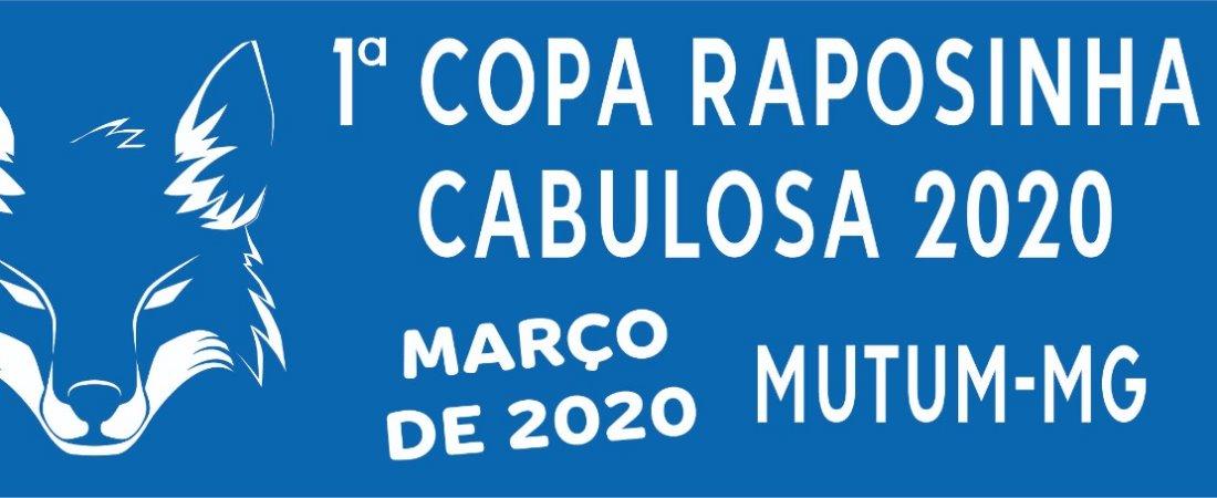 1º COPA RAPOSINHA CABULOSA DE FUTEBOL
